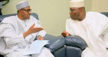 Buhari and Atiku Abubakar