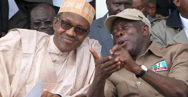 Buhari-Oshiomhole
