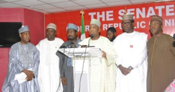 Some-Kano-APC-federal-lawmakers-addressing-press-on-Thursday-November-29-2018