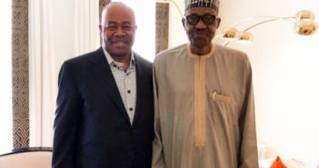 Akpabio and Buhari