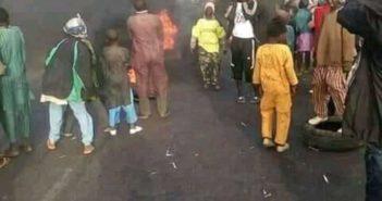 Zamfara Protest