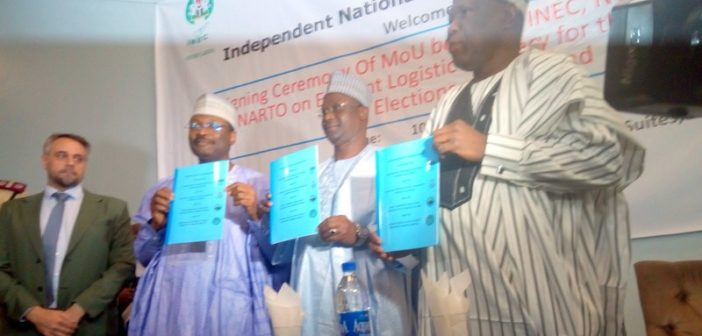 INEC Signing of MoU