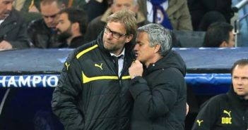 Klopp and Mourinho