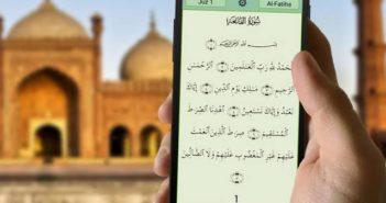 Quran on Phone