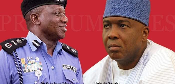 Bukola Saraki and Idris Ibrahim