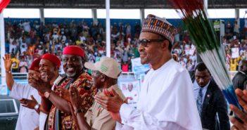 Buhari in Abia