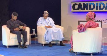 Buhari with Kadaria