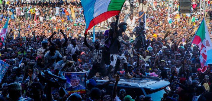 Buhari Campaign Crowd