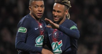 Neymar and Mpape