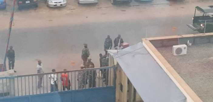 Nigerian-Army-invades-Daily-Trust-office-Abuja