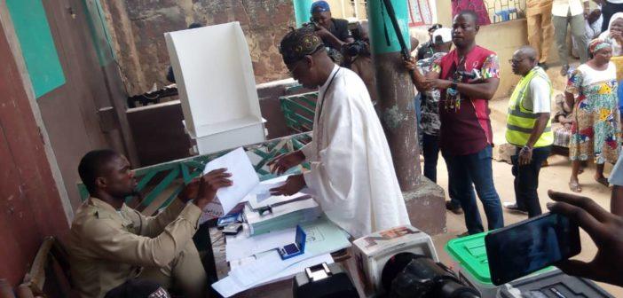 Lai Mohammed Voting