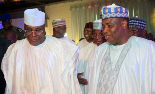 Tambuwal and Atiku