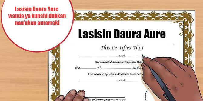 Lasisin Daura Aure