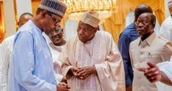 Buhari and Ganduje Aso rock