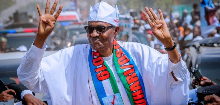 Buhari Celebrates