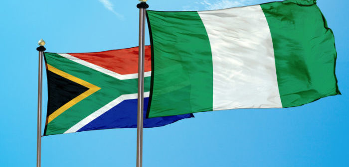 South Africa and Nigeria