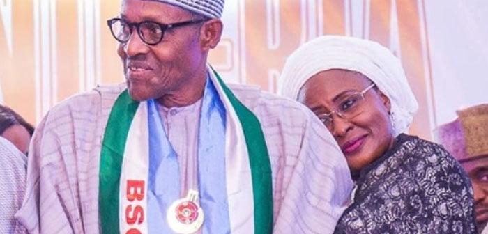 Muhammadu Buhari and Aisha
