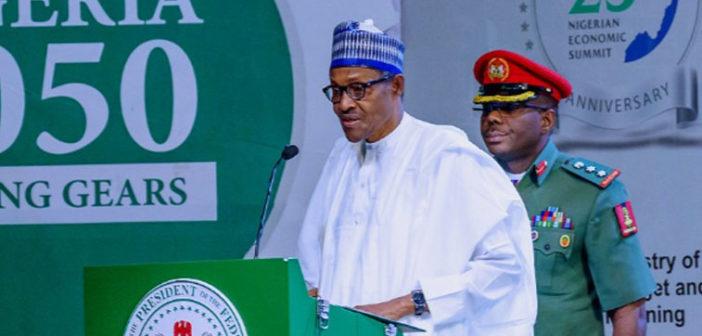 Buhari at summit