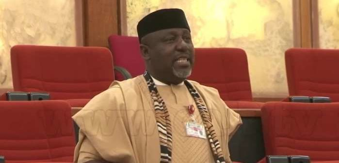 Rochas Okorocha in The Senate