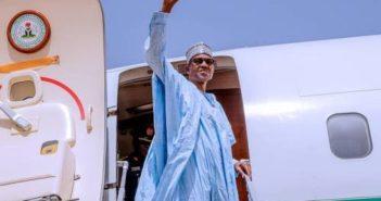 Buhari Travelling
