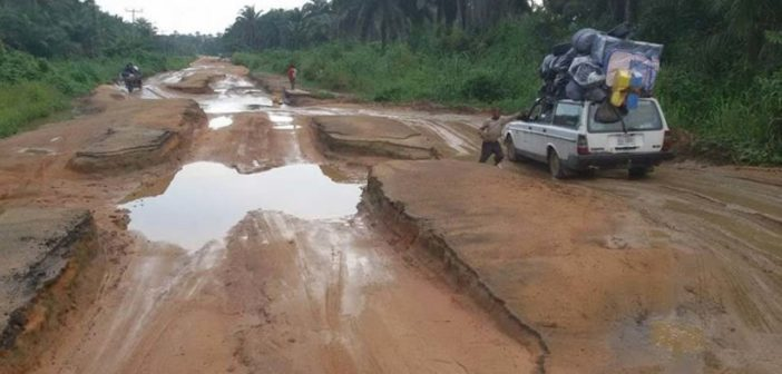 Bad Nigerian Road