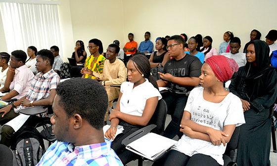 American University of Nigeria Student -Crt- Google