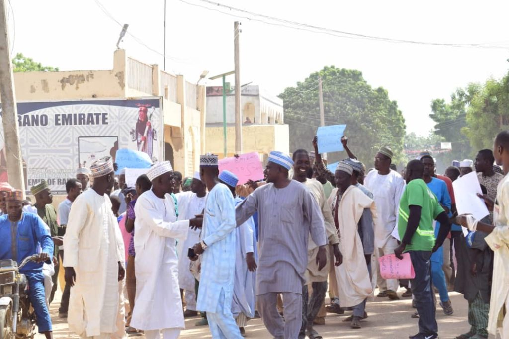 Kano Emirate Protesters
