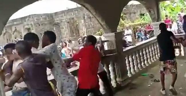 Election Fight in Bayelsa - crd: ChannelsTV