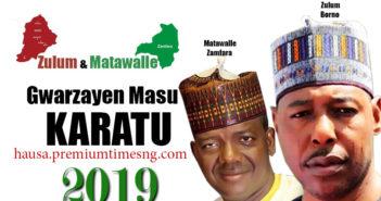 Zulum and Matawalle