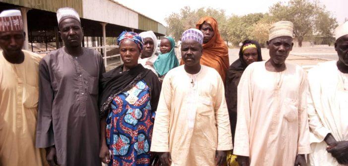 protesting IDPs in Adamawa