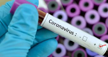 Blood sample with respiratory coronavirus positive