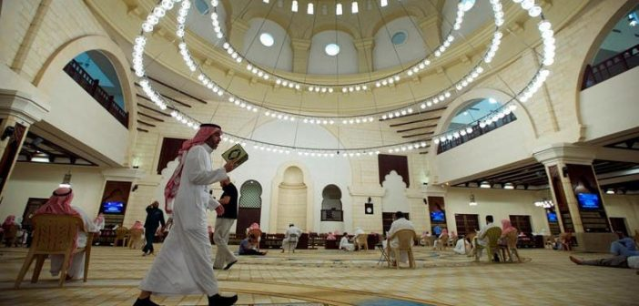 Saudi mosque - Pic- Reuters