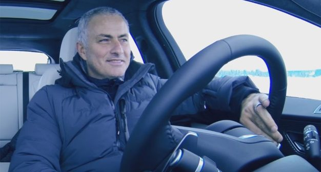 Mourinho driving