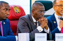 Sanwo Olu and Abayomi, commissioner of health